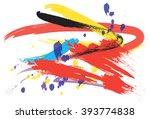 brush art abstract | Shutterstock . vector #393774838