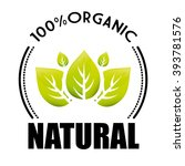organic and natural product | Shutterstock .eps vector #393781576