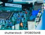 circuit boards board computer. | Shutterstock . vector #393805648