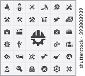 simple repair icons set....