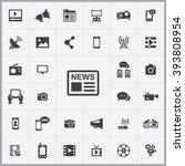 media icon  media icon vector ...