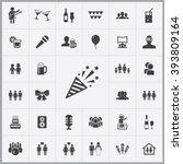 Party Icon  Party Icon Vector ...