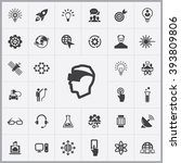 simple innovation icons set....   Shutterstock .eps vector #393809806