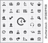 Simple Service Icons Set....