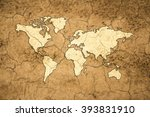 global drought concept | Shutterstock . vector #393831910