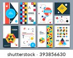 abstract composition ... | Shutterstock .eps vector #393856630