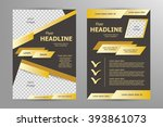 vector flyer template design....   Shutterstock .eps vector #393861073