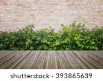 old hardwood decking or... | Shutterstock . vector #393865639