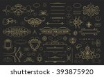 wicker lines and old decor...   Shutterstock .eps vector #393875920