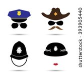 set of colorful vector icons... | Shutterstock .eps vector #393905440