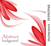 abstract background red  | Shutterstock .eps vector #393905968