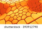 abstract 3d background with... | Shutterstock . vector #393912790