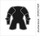 medieval knight armor simple... | Shutterstock .eps vector #393927409