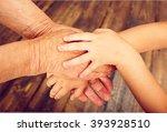 human hand. | Shutterstock . vector #393928510