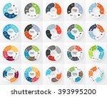 vector circle arrows sign... | Shutterstock .eps vector #393995200