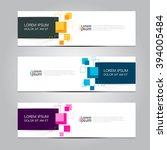 vector design banner background.... | Shutterstock .eps vector #394005484