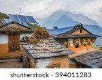 Nepali Traditional Houses With...