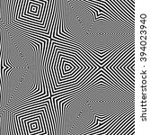 pattern with optical illusion.... | Shutterstock .eps vector #394023940