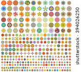 over 300 of flower like icon...