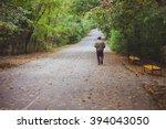 An Elderly Man Is Walking...