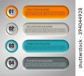 information infographic... | Shutterstock .eps vector #394044928