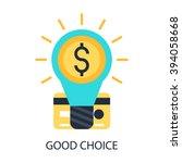 good choice | Shutterstock .eps vector #394058668
