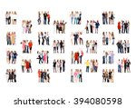 together we stand achievement... | Shutterstock . vector #394080598