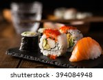 Fresh And Delicious Maki And...