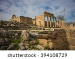 Image Of Ruins Of Lindos Castl...