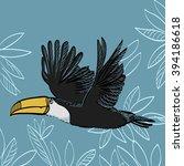 vector illustration of seamless ...   Shutterstock .eps vector #394186618