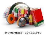 foreign languages learning and... | Shutterstock . vector #394211950