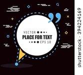 abstract concept vector empty... | Shutterstock .eps vector #394224169