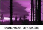 Nature Background. Panorama O...
