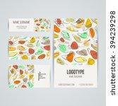 set of vector design templates. ... | Shutterstock .eps vector #394239298