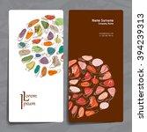 set of vector design templates. ... | Shutterstock .eps vector #394239313