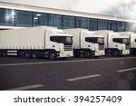 truck fleet | Shutterstock . vector #394257409