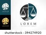 scale of justice logo | Shutterstock .eps vector #394274920