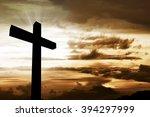 Wooden Christian Cross....