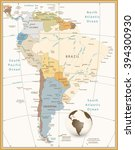 South America Detailed Map...