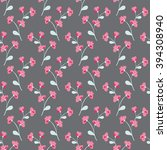 climbing rose vine seamless... | Shutterstock .eps vector #394308940