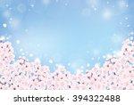 cherry blossom | Shutterstock .eps vector #394322488