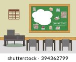 education icons on the... | Shutterstock .eps vector #394362799