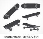 skateboarding vector... | Shutterstock .eps vector #394377514