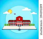 vector illustration of pop up... | Shutterstock .eps vector #394393399