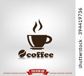Coffee Cup Icon Vector...