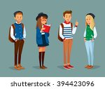 vector set of international... | Shutterstock .eps vector #394423096