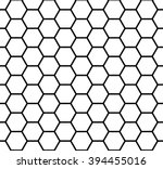 abstract geometric black and... | Shutterstock .eps vector #394455016