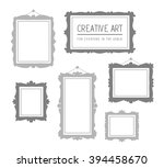 vector illustration of set of... | Shutterstock .eps vector #394458670