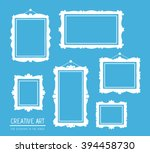 vector illustration of set of... | Shutterstock .eps vector #394458730