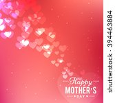 happy mothers day design... | Shutterstock .eps vector #394463884